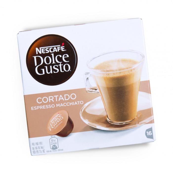 """Coffee capsules NESCAFÉ Dolce Gusto """"Cortado"""", 16 pcs."""