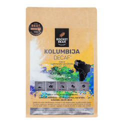 """Īpašās kafijas pupiņas Rocket Bean Roastery Colombia """"Decaf Espresso"""" 200 g"""