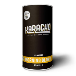 "Gemahlener Kaffee Karacho ""Morning Glory Bio Kaffee"", 340 g"