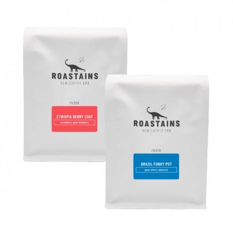 """Zestaw kawy ziarnistej Roastains """"Zestaw Do Alternatyw Big"""", 1 kg"""