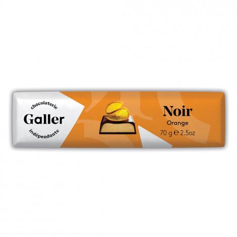 """Šokolādes batoniņš Galler """"Dark Orange"""", 70 g"""