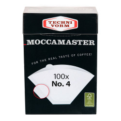 """Paper filters for coffee maker Moccamaster """"No.4"""""""