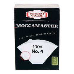 """Popieriniai filtrai kavavirei Moccamaster """"No.4"""""""