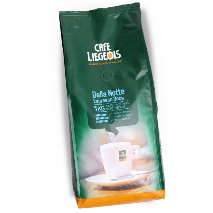 """Kaffeebohnen Café Liégeois """"Della Notte Deca"""", 1 kg"""