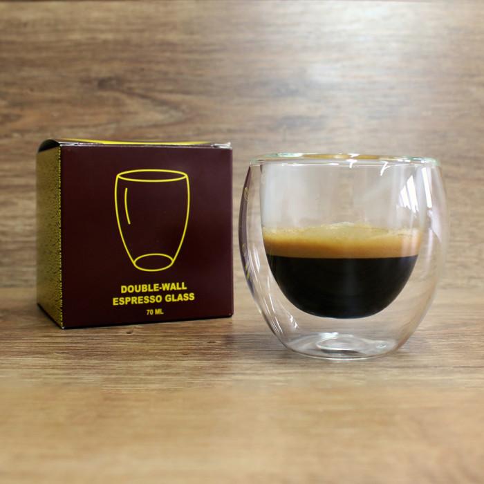Kavos Draugo espresso stiklinė, 70 ml
