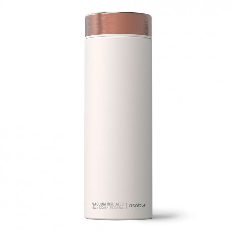 "Thermo krūze Asobu ""Le Baton White/Copper"", 500 ml"