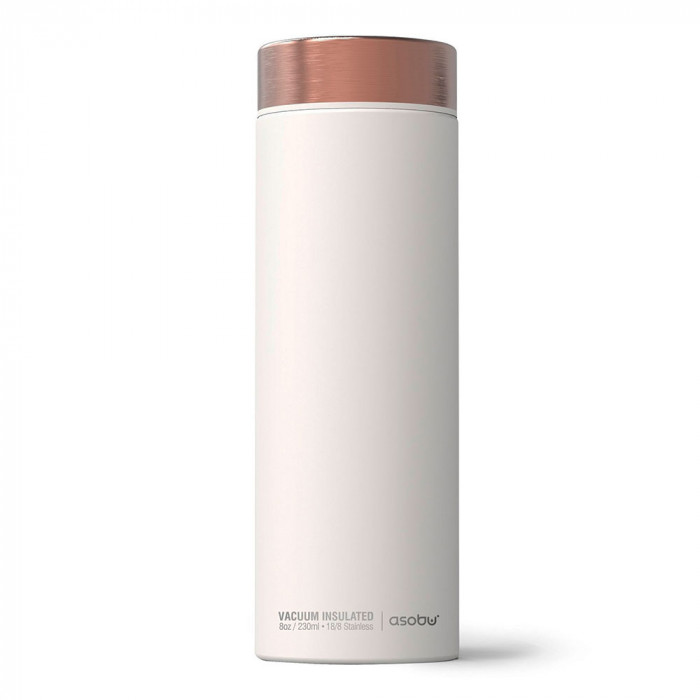 "Termostass Asobu ""Le Baton White/Copper"", 500 ml"
