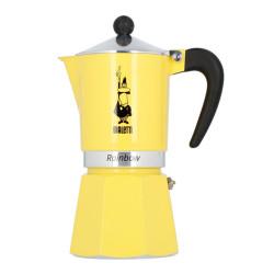 """Kavavirė Bialetti """"Moka Rainbow 6-cup Yellow"""""""