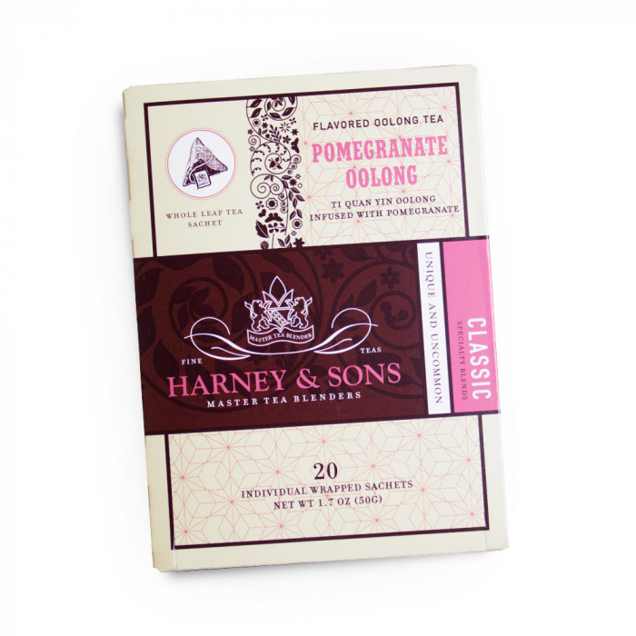 "Aromatisoitu oolongin tee Harney & Sons ""Pomegranate Oolong"""