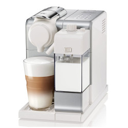 "Ekspozicinis kavos aparatas Nespresso ""Lattissima Touch Silver"""