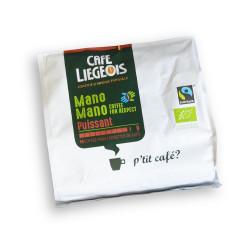 "Coffee pads Café Liégeois ""Mano Mano Puissant"", 18 pcs."