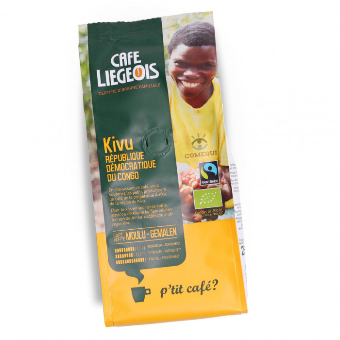 "Ground coffee Café Liegeois ""Kivu"", 250 g"