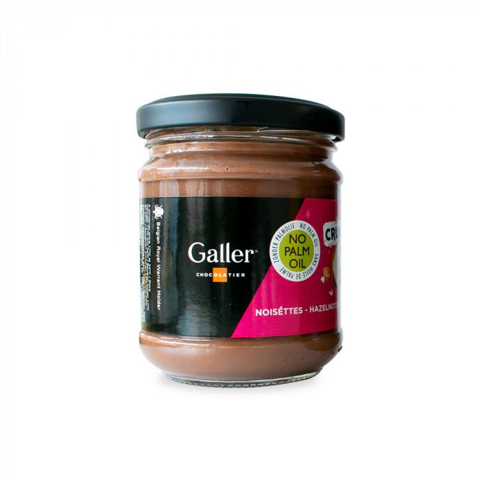 """Rapsakka hasselpähkinälevite Galler """"Crunchy Hazelnut"""", 200 g"""