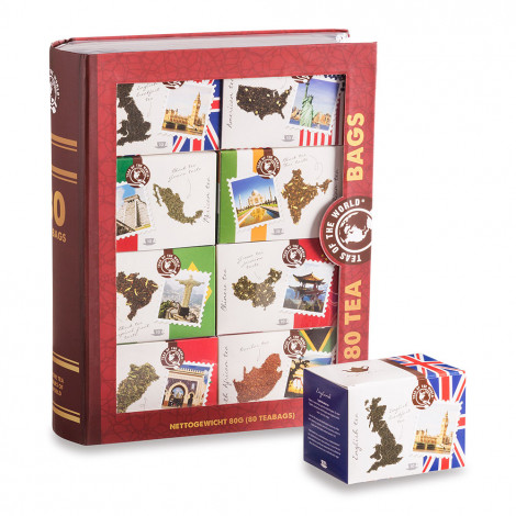 """Theeset Axxent Masters in Tea """"Teas of the World"""", 80 pcs."""
