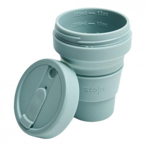 "Faltbarer Becher Stojo ""Aquamarine"", 355 ml"