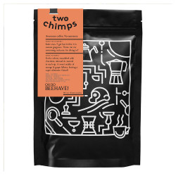 """Coffee beans Two Chimps """"Oh Do Beehave"""", 250 g"""