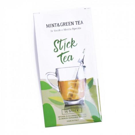 "Piparmündiga roheline tee Stick Tea ""Mint&Green Tea"", 15 tk."