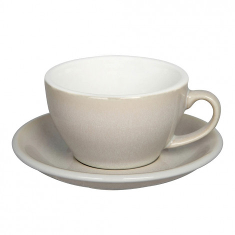 """Cappuccino kopje met schoteltje Loveramics """"Egg Ivory"""", 200 ml"""