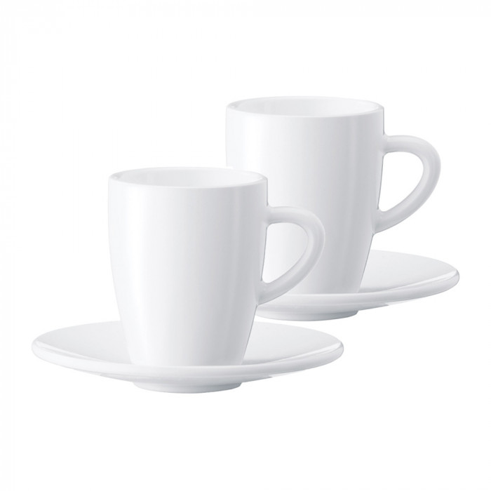 Espresso cup with a plate Jura, 2 pcs.