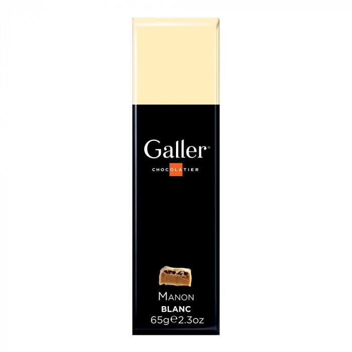 """Šokoladinis batonėlis Galler """"White Manon"""", 1 vnt."""