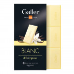 """Šokolaaditahvel Galler """"White"""", 80 g"""