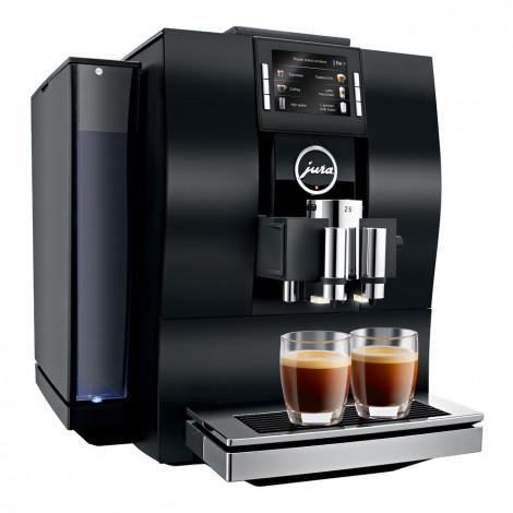 """Ekspres do kawy z ekspozycji JURA """"Z6 Aluminium Black"""""""