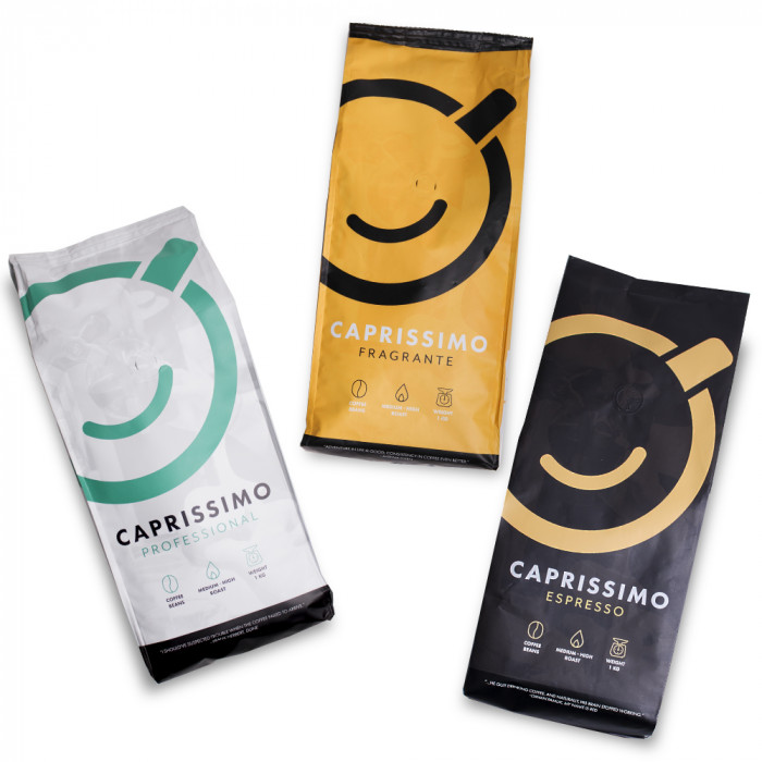"Coffee bean set ""Caprissimo Trio Classic"", 3 kg"