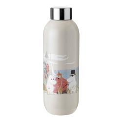 """Vesipullo Stelton """"Keep Cool Moomin Sand"""", 0.75 l"""