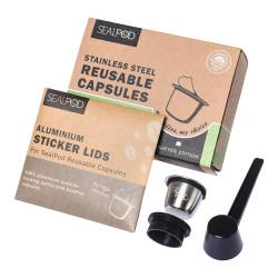 """Herbruikbare capsule compatibel met Nespresso® Sealpod """"Starter Edition"""""""