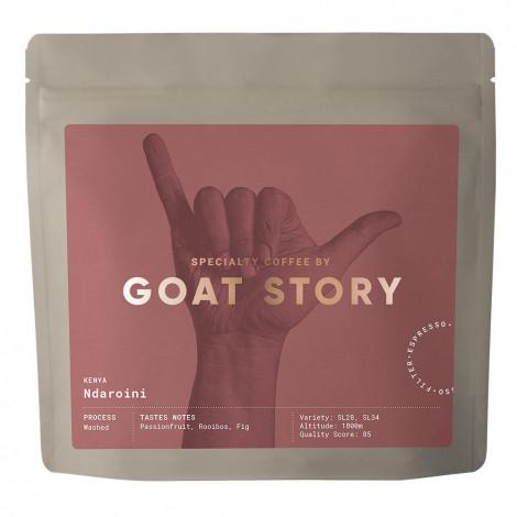 "Specialty coffee beans Goat Story ""Kenya Ndaroini"", 250 g"