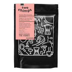 """Coffee beans Two Chimps """"Have Faith in the Fairies"""", 250 g"""