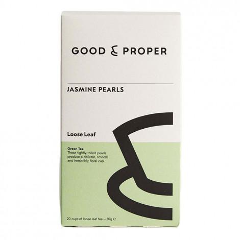 """Grüner Tee Good und Proper """"Jasmine Pearls"""", 50 g"""