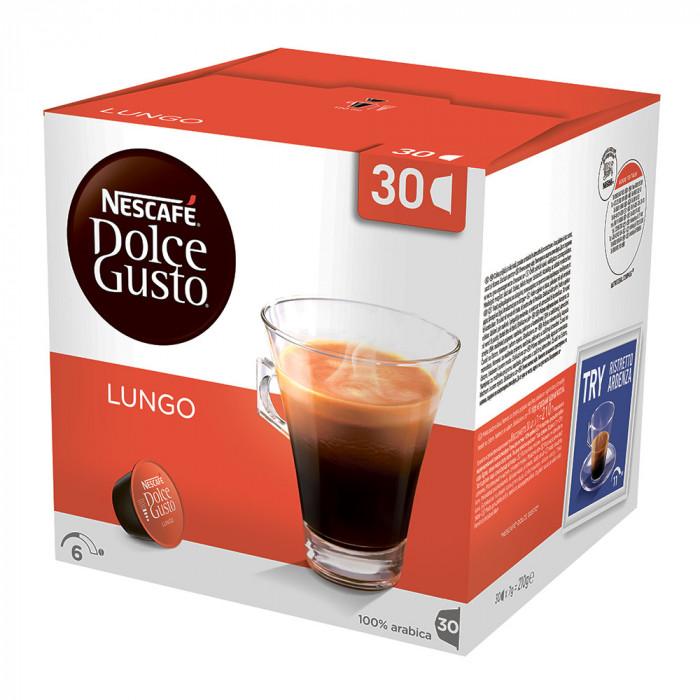 "Kahvikapselit NESCAFÉ Dolce Gusto ""Lungo"", 30 kpl."