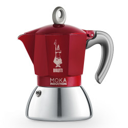 "Kavavirė Bialetti ""New Moka Induction 4-cup Red"""