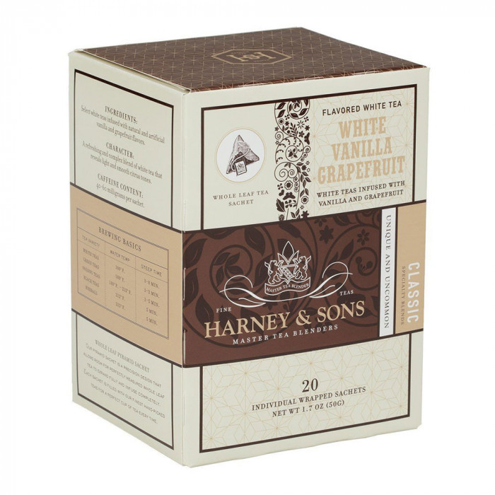 "Tēja Harney & Sons ""White Vanilla Grapefruit"""