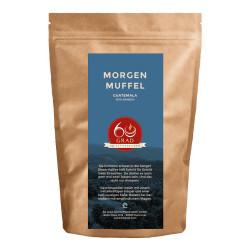 "Kaffeebohnen 60 Grad – Die Kaffeerösterei ""Morgenmuffel Kaffee"", 1 kg"