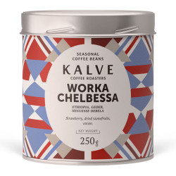 """Specializētās kafijas pupiņas """"Worka Chelbessa"""" – 250 g"""