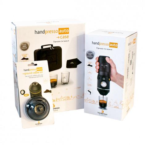 "Handpresso rinkinys ""Auto E.S.E + Ground Coffee Kit + Case"""