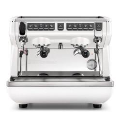 """Kavos aparatas Nuova Simonelli """"Appia Life Compact V White"""" dviejų grupių"""