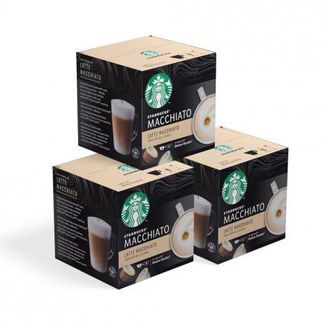 "Zestaw kapsułek Starbucks ""Latte Macchiato"", 3 x 6 + 6 szt."