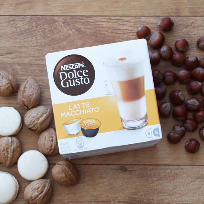 """Kafijas kapsulas NESCAFÉ Dolce Gusto """"Latte Macchiato"""", 8×8 gab."""