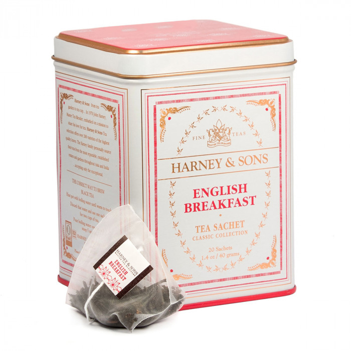 "Juodoji arbata Harney & Sons ""English Breakfast"", 20 vnt."