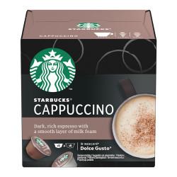 Кофе в капсулах для Dolce Gusto® Starbucks «Cappuccino», 6 + 6 ед.