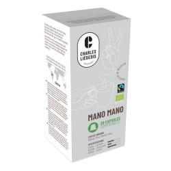 "Kaffeekapseln Café Liégeois ""Mano Mano"", 20 Stk."