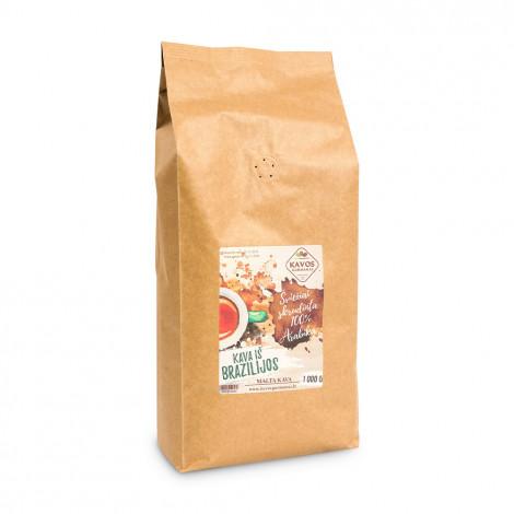 "Kohvioad Kavos Gurmanai ""Brazil Yellow Bourbon"", 1 kg"