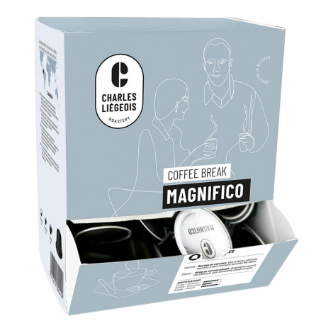 """Coffee capsules compatible with Nespresso® Charles Liégeois """"Magnifico"""", 50 pcs."""
