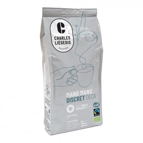 """Jahvatatud kohv Charles Liégeois """"Mano Mano Discret Déca"""", 250 g"""