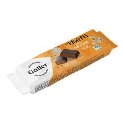 "Chocolade snoepjes Galler ""Les Rawetes – Pop-Corn"", 5 pcs. (25 g)"