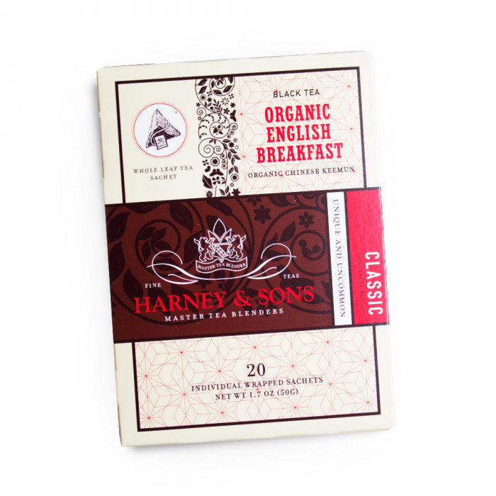 "Melnā tēja Harney & Sons ""Organic English Breakfast"""