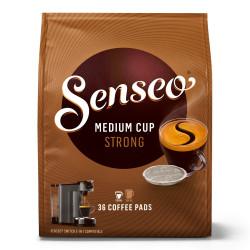 "Kaffee Pads Jacobs Douwe Egberts ""SENSEO® STRONG"", 36 Stk."